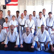 Aikido group photo from Isabela Puerto Rico.